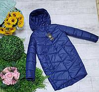 Куртка на девочку на весну код 895  размеры на рост от 140 до 158, фото 1