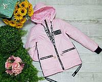 Куртка на девочку на весну код 896 размеры на рост от 128 до 146 возраст от 6 лет и старше, фото 1