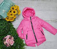 Куртка для девочки весна-осень код 893 размеры на рост от 98 до 116 возраст от 3 лет и старше, фото 1