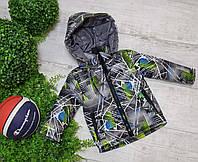 Куртка на мальчика весна осень 890 размеры на рост от 74 до 98 возраст от 1 года и старше, фото 1