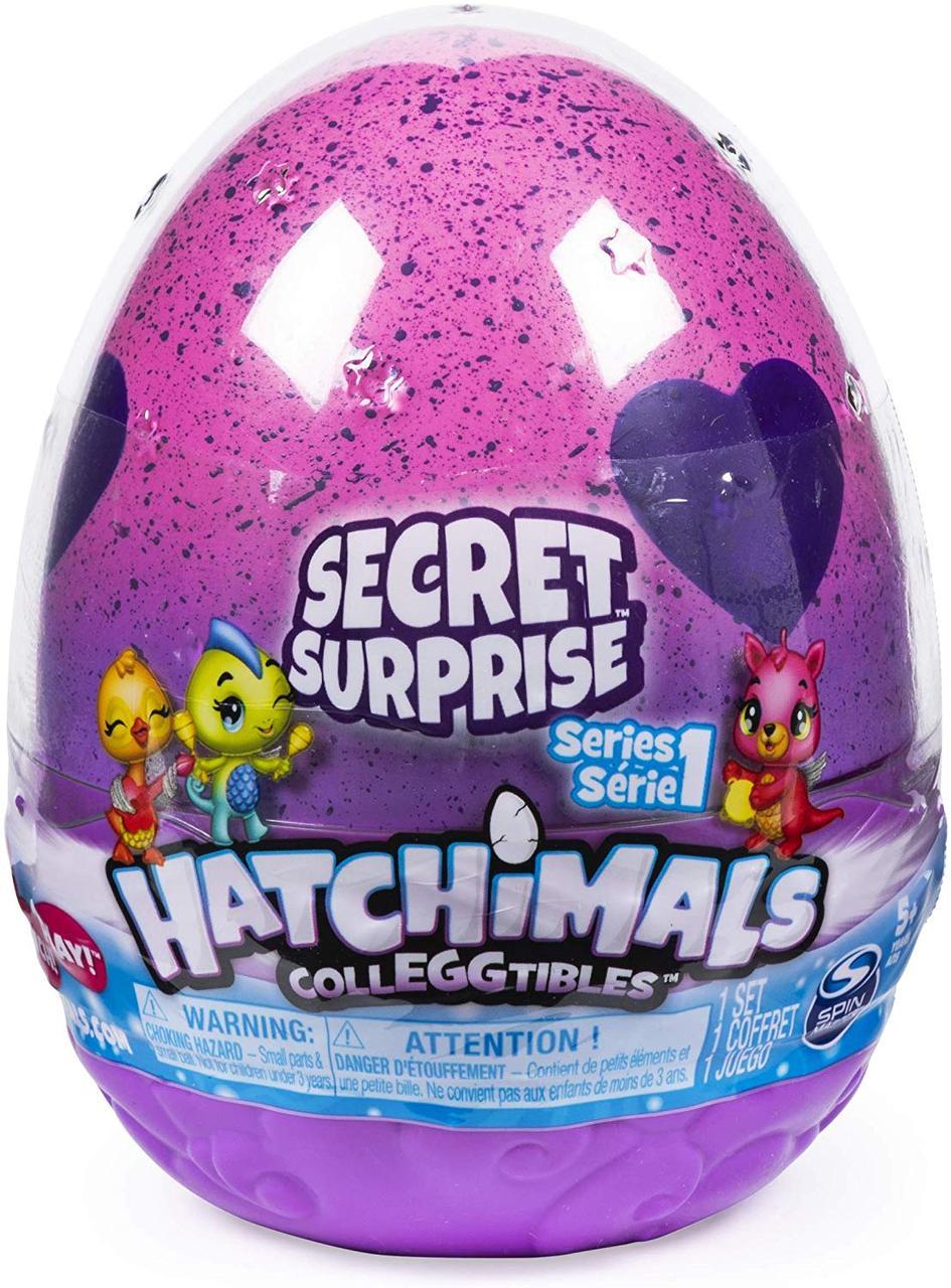 Hatchimals Секретное яйцо сюрприз с 3-мя фигурками 6047122 CollEGGtibles Secret Surprise Playset