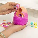 Hatchimals Секретное яйцо сюрприз с 3-мя фигурками 6047122 CollEGGtibles Secret Surprise Playset, фото 7