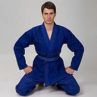 Кимоно для джиу джитсу синее VELO