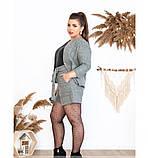 Костюм-двойка состоит из короткой кофты и шортиков №41211-серый, фото 3