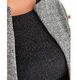 Костюм-двойка состоит из короткой кофты и шортиков №41211-серый, фото 4