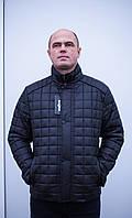 "Мужская,демисезонная куртка ""Fashion Classic-Black & Navy""."