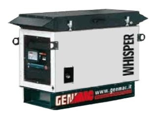 Трехфазный газовый генератор Whisper G 12000 KSA (12,2 кВт)