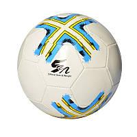 Мяч футбольный EV 3280, размер 5, ПВХ 1,8мм, 2слоя, 32панели, 300-320г, 3 цвета