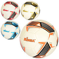 Мяч футбольный MS 2763, размер 5, TPE, 400-420г, 4 цвета