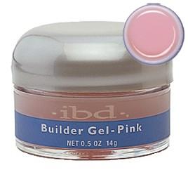 Гель розовый конструирующий IBD Builder Gel Pink, 14 г.