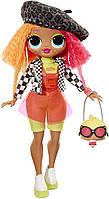Оригинальная кукла ЛОЛ Сюрприз Леди Неон L.O.L. Surprise! O.M.G. Neonlicious Fashion Doll 560579