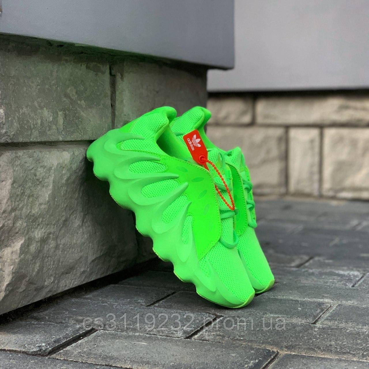 Мужские кроссовки Adidas Yeezy boost 451 Green (салатовые)