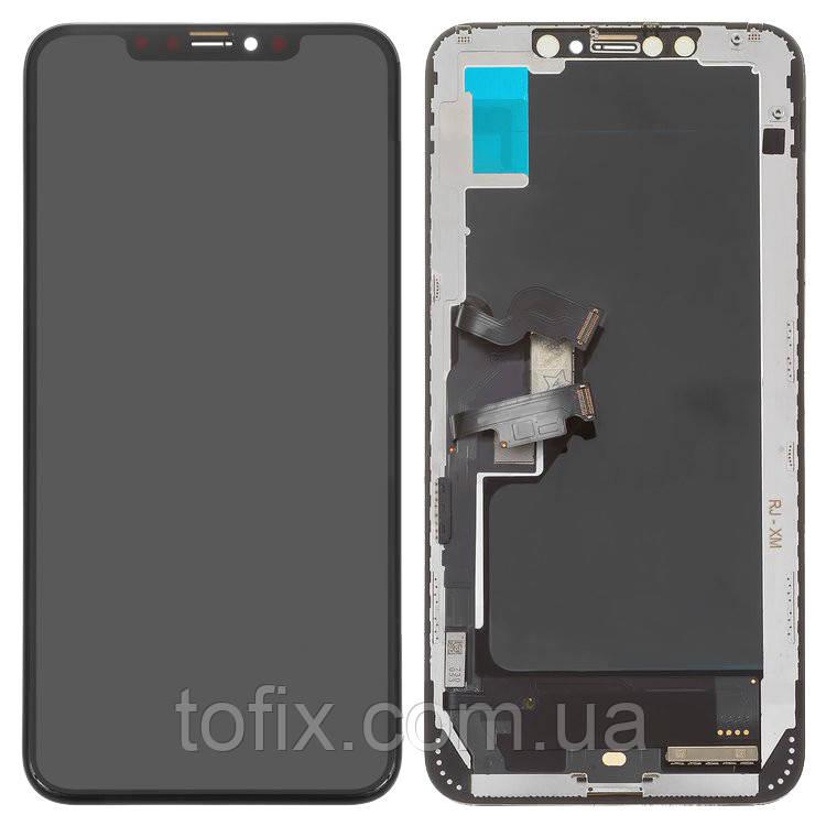 Дисплейный модуль (экран и сенсор) для iPhone XS Max, черный (TFT, Tianma)