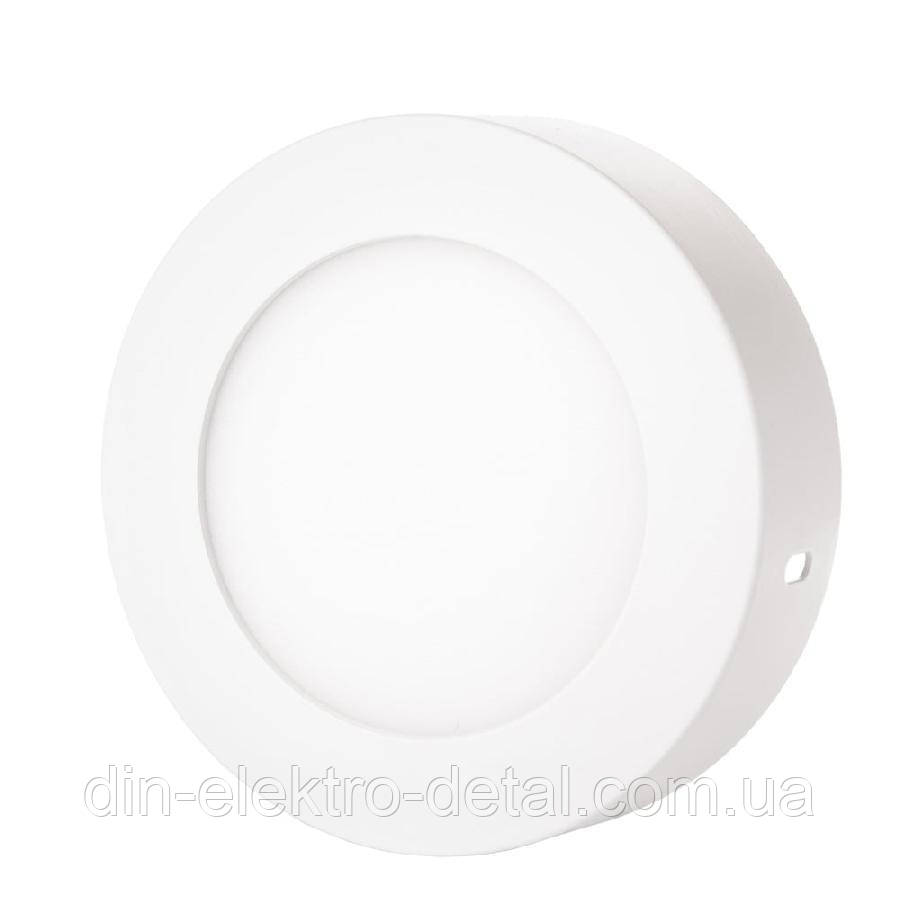 Светильник точечный накладной ЕВРОСВЕТ 6Вт круг LED-SR-120-6 4200К