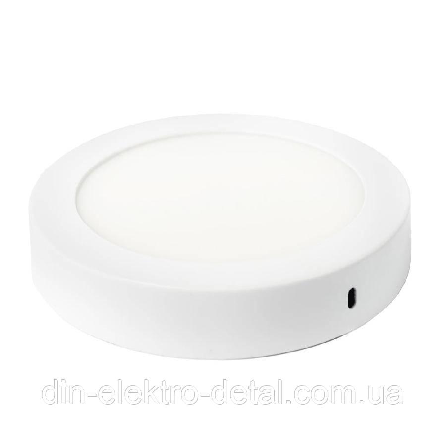 Светильник точечный накладной ЕВРОСВЕТ 12Вт круг LED-SR-170-12 6400К