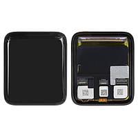Дисплейный модуль (экран и сенсор) для Apple Watch 3 42 mm, LTE, черный
