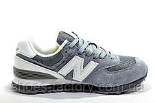 Кроссовки унисекс в стиле New Balance 574, Gray\White, фото 2