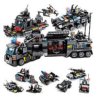 Развивающий конструктор Городская полиция, спецназ 695 шт совместим с Lego, фото 1