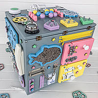 БизиТумба Busy Kids  Разноцветная 35x40см