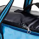 2 в 1 - термосумка + сумка-чохол КЕМПІНГ Ultra (17р), блакитний/чорний, фото 3