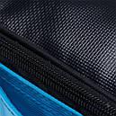 2 в 1 - термосумка + сумка-чохол КЕМПІНГ Ultra (17р), блакитний/чорний, фото 5