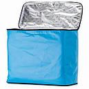 2 в 1 - термосумка + сумка-чохол КЕМПІНГ Ultra (17р), блакитний/чорний, фото 4
