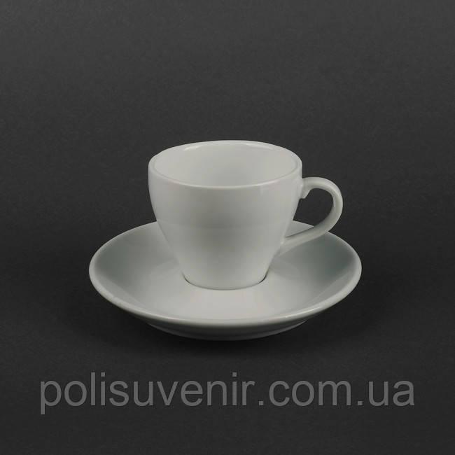 Набір чайний 2 предмета: чашка 150 мл + блюдце