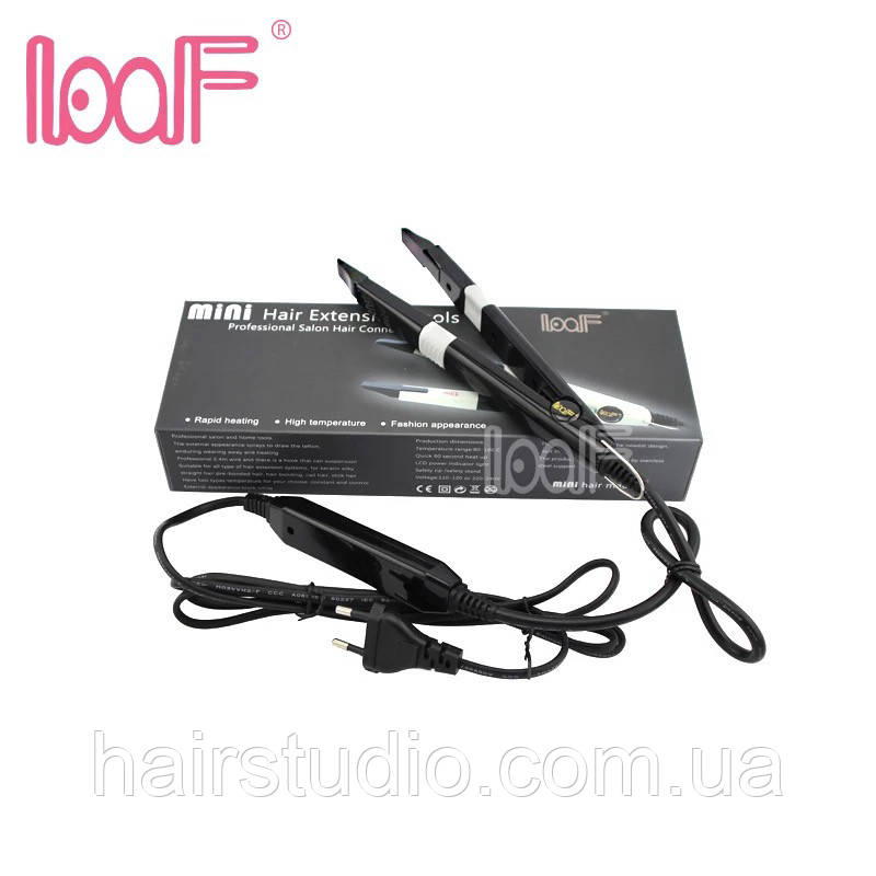 Щипцы для наращивания волос Loof мини