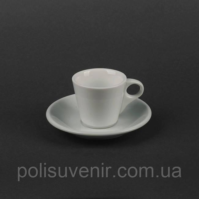 Набір чайний 2 предмета: чашка 180 мл + блюдце