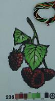 Печать на вышив.ткани №236 уп=1шт