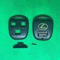 Корпус авто ключа LEXUS (Лексус) RX, GX, LX, IS, GS, ES, LS, SC - 3 кнопки оригинальное крепление