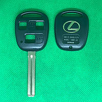 Корпус авто ключа LEXUS (Лексус) RX, GX, LX, IS, GS, ES, LS, SC - 3 кнопки лезвие TOY40