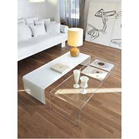 Журнальный стеклянный стол Ustus