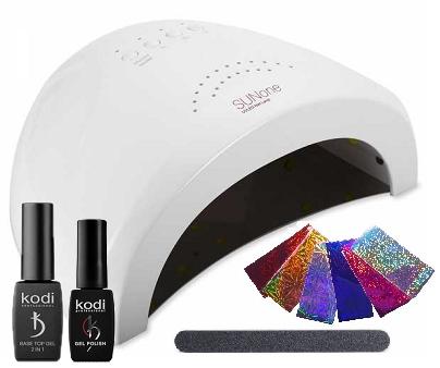"""Стартовый набор для покрытия ногтей гель лаком Kodi Professional """"минимальный"""" №3"""