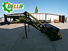 Погрузчики фронтальные на трактор МТЗ  Dellif Strong 1800 усиленная модель, ковш 1.5 куба, фото 3