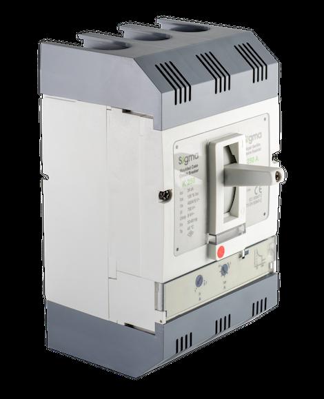 автоматический выключатель трехполюсный в литом корпусе корпусной силовой автомат 100 125 160 200 250 400 500 630 800 1000 1250 1600 а ампер СИГМА Sigma