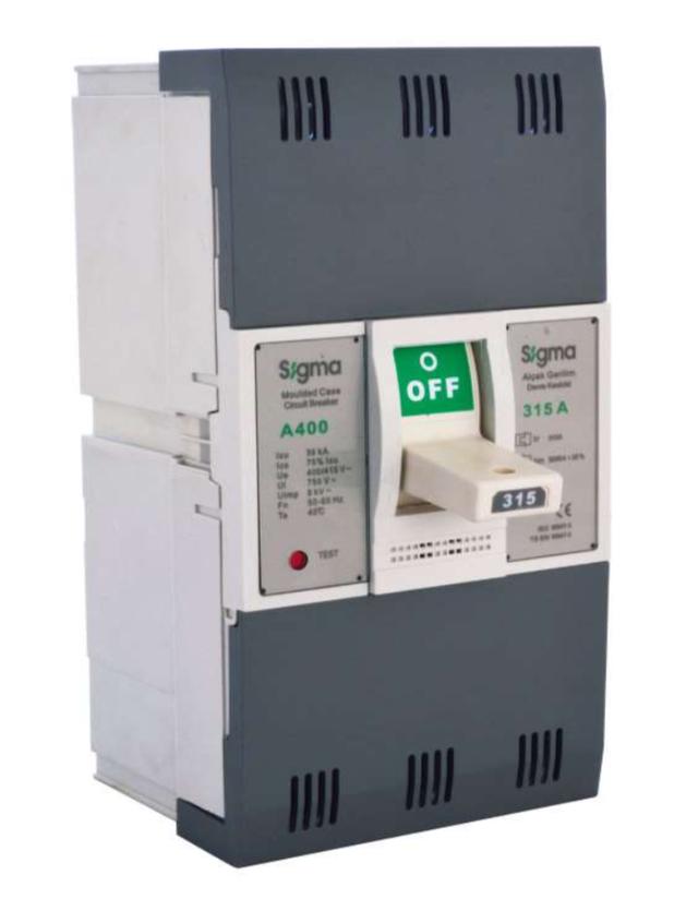 автоматический выключатель трехполюсный в литом корпусе корпусной силовой автомат 100 125 160 200 250 400 500 630 800 1000 1250 1600 а ампер СИГМА Sigma Elektrik