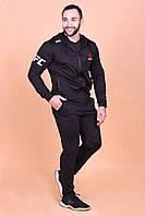 Мужской спортивный костюм Reebok ufc с капюшоном. ТОП качество!!!