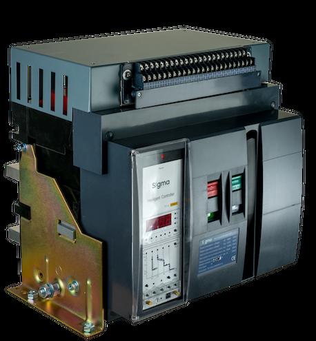 автоматический выключатель трехполюсный  силовой автомат  1000 1250 1600 2500 4000 5000 6300 а ампер СИГМА Sigma Elektrik