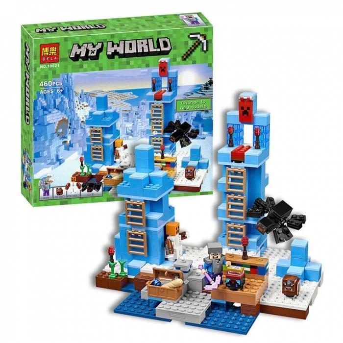 """Конструктор Minecraft Bela 10621 """"Ледяные шипы"""" (аналог Lego"""