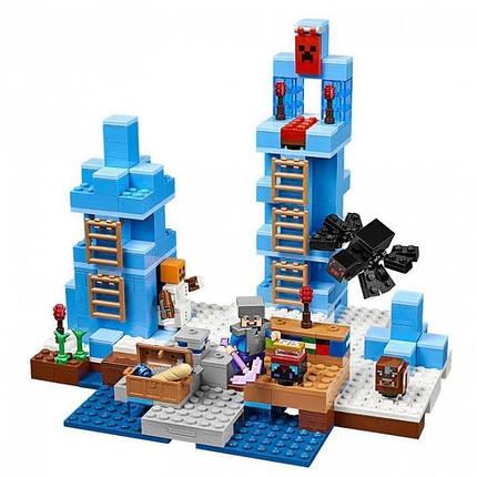 """Конструктор Minecraft Bela 10621 """"Ледяные шипы"""" (аналог Lego, фото 2"""