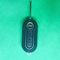 Корпус выкидного авто ключа ключ Фиат для Fiat 500 Punto,Doblo,Ducato( Добло,Дукато) 3- кнопки с лезвием SIP22