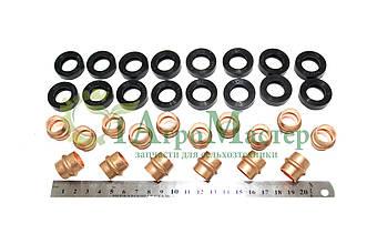 Н-р медных трубок с уплотнением головки Д-160 (медь+рти) (Т-130,Т-170)