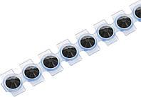 "Кристаллы Сваровски для текстиля на ленте SS10  2,8 мм ""Knorr Prandell"" , цвет оникс."