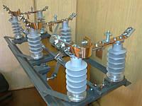 Разъединитель РЛНД 10 IV/400 с полимерными изоляторами