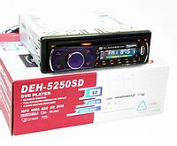 Автомагнитола Pioneer DEH-5250SD DVD съемная панель USB+Sd+MMC, автомагнитола с DVD приводом, фото 1