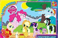 Пазлы Little Pony GToys 70