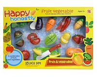 Игрушечные продукты фрукты и овощи на липучке.Набор игрушечных продуктов для детей.