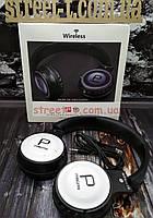 Беспроводные наушники Bluetooth для телефона или ноутбука с встроенным микрофоном Wireless P19