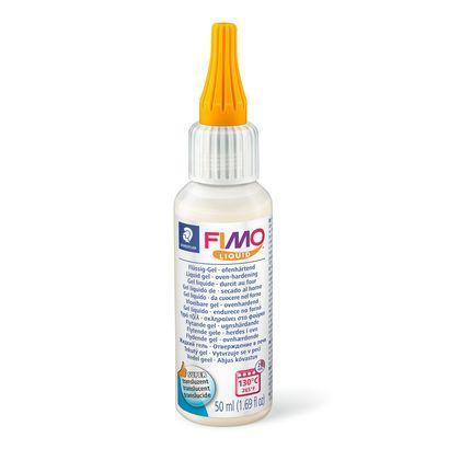 Рідка полімерна глина Fimo liquid гель прозора 50 мл Staedtler, 805000